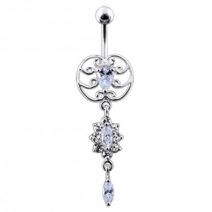 Celtic Dangling Belly Ring
