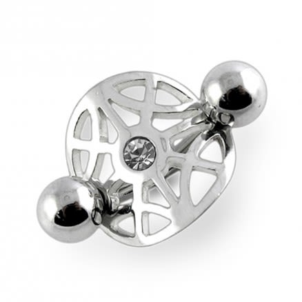 Jewelled Non-Moving Belly Ring