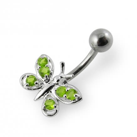 Butterfly Navel Ring