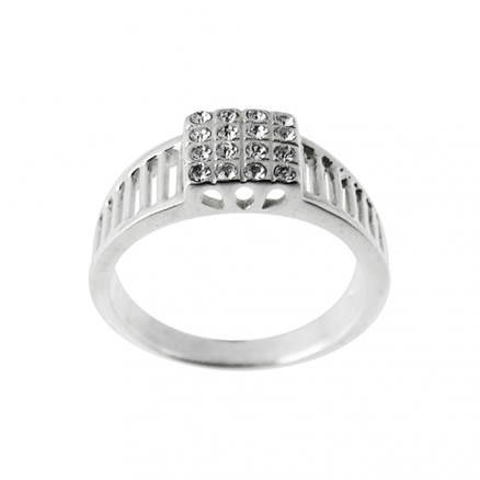 Hot Selling Noble Fashion Crystal Finger Ring Jewelry