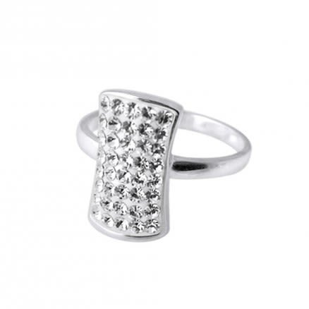 Cool Style White Rhinestone Finger Ring