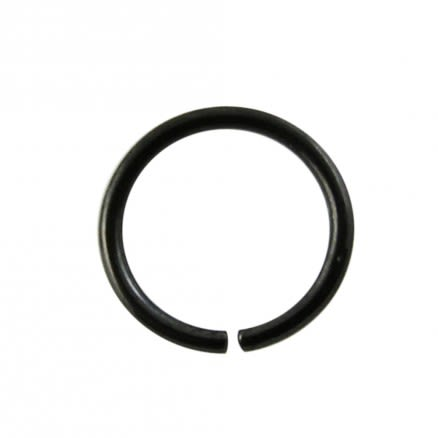 Anodized Black Nose hoop Ring