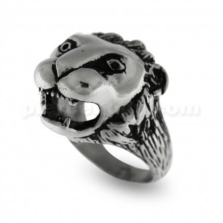 Dinosaur Broken Skull Shield Finger Ring
