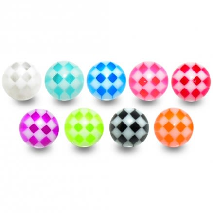 UV Small Check Balls