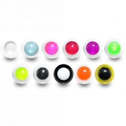 UV Fancy Animal Eye Acrylic Balls