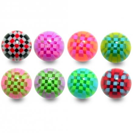 UV Micro Chess Balls