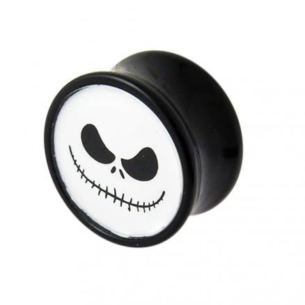 Double Flared Mr.Jack Logo Ear Plug