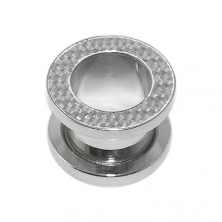 Surgical Steel Screw Fit Flesh Tunnel