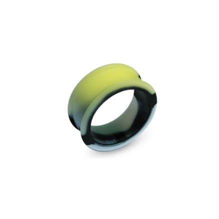 4mm to 30mm Color Changing To Yellow Silicone Ear Plug