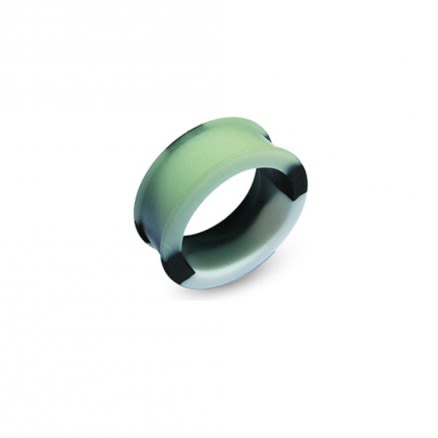 Color Changing To Green Silicone Ear Plug Body Jewelry