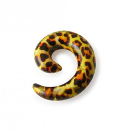 Acrylic Spiral Snail Taper Tunnel Earlet Ear Stretcher Expander Hanger