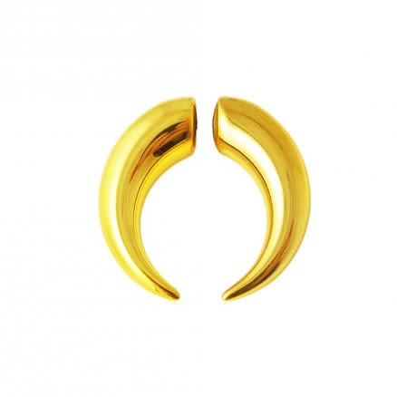 Gold Anodize Magnetic Ear Plug