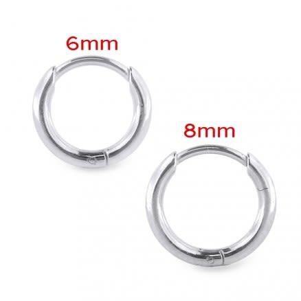 Surgical Steel Hinged Huggie Earring