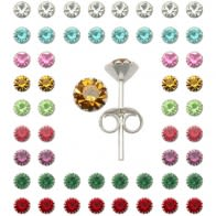 5mm Flower Ear Studs in a 36 pair Tray