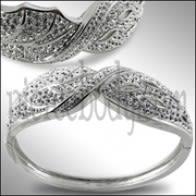 White Color Crystal stone Bracelet
