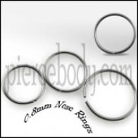 20G Surgical Steel Nose Hoop Ring