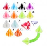 Attractive Colors of UV Fancy Cone