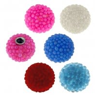14 Gauge 6 mm Colorful Tiny Beaded Balls