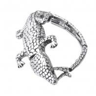 Casting Crocodile Stainless Steel Bracelet