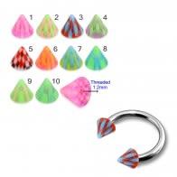 Multi Color UV Cones