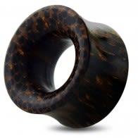 Organic Dark Palm Wood Ear Plug Gauges