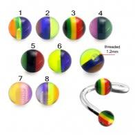 UV Rasta Balls