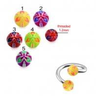 UV Acrylic Colorfull Fancy Balls