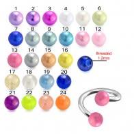 UV Fancy Acrylic Pearl Balls