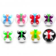 UV Butterfly Balls