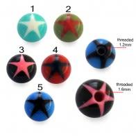 UV Fancy Star Balls