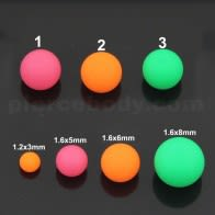 UV Fancy Bright Colors Fimo Balls