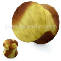 Marble Pattern UV Acrylic Double Flared Ear Plug