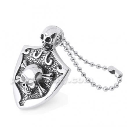 Stainless Steel Laughing Skulls Pendant