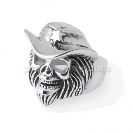 Pirates Skull finger ring
