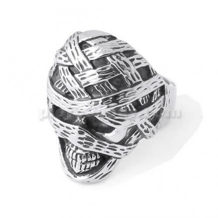 Mummy Skull finger ring