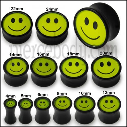 Smiley Logo Ear Plug