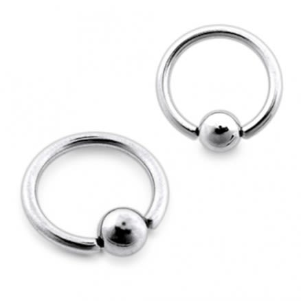 316L Surgical Steel 14G Captive Bead Rings (BCR)