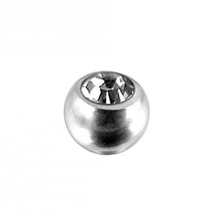 Surgical Steel Jeweled Balls