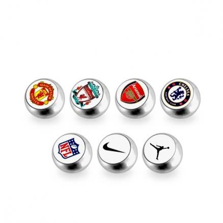 316L Surgical Steel Logo balls