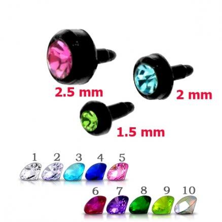 Bioflex jeweled Black Push-Fit heads
