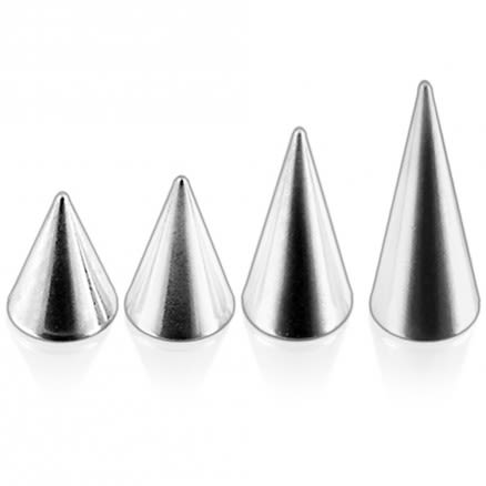 316L Surgical steel Long Cones