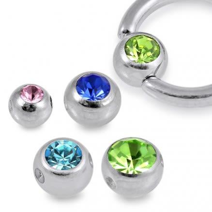 G23 Grade Titanium Jeweled BCR Ball