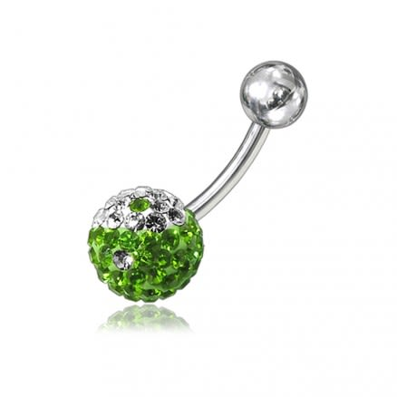 Crystal Stone Navel Body Jewelry Ring FDBLY051