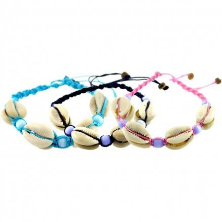 Turquoise Bead Bali Handmade Beach Shell Bracelet