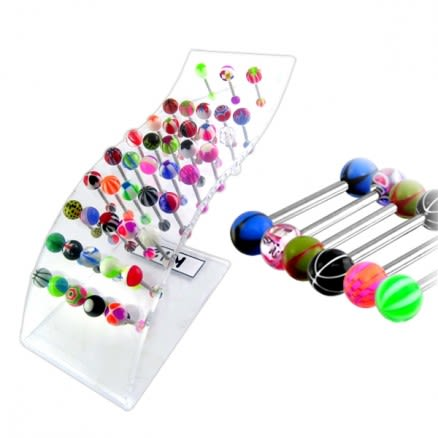 Belly Button Ring Holder | Belly Ring Holder | Belly Button Ring Display