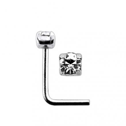 Claw Set L Shaped Nose Pin