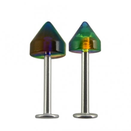 316L Surgical steel Labrets with cone