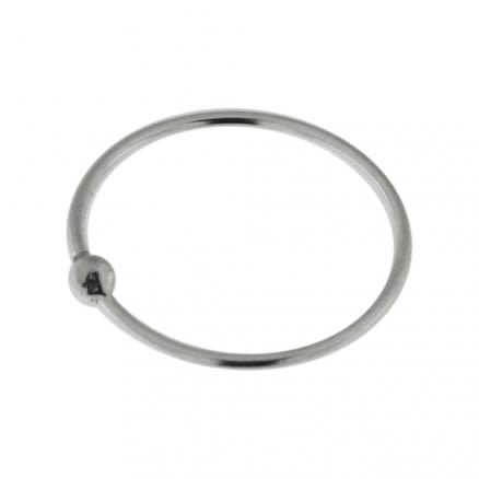 Open Hoop BCR 925 Sterling Silver Nose and Ear Tragus Ring in Box