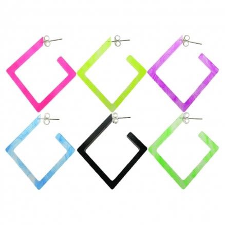 26mm UV React Fashionable Diamond Earring