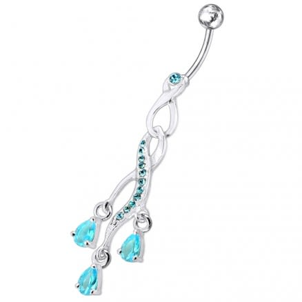 Chandelier Design Belly Ring
